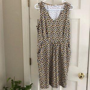 Boden Clothing Floral Patterned Dress